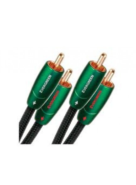 AudioQuest  Evergreen RCA To RCA Cable 1m